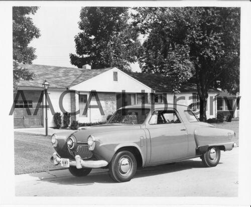 Factory Photo Ref. #91435 1951 Studebaker Champion Five Passenger Coupe