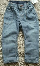 Baby boy stripped trousers 12-18 months