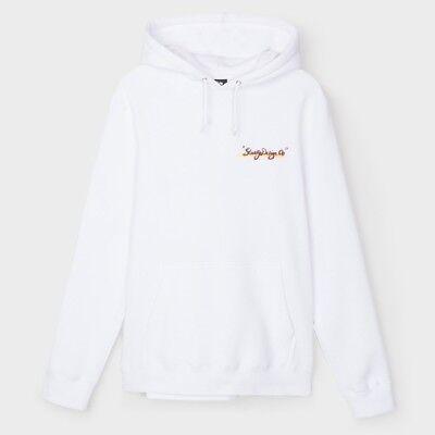 $64 Stussy Men Sunset Kapuzenpulli Weiß Schnelle Farbe