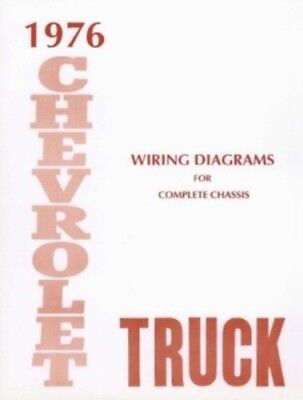 CHEVROLET 1976 Truck Wiring Diagram 76 Chevy Pick Up   eBay