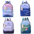 New Fashion Girl Canvas School Bag Travel Cute Backpack Satchel Women Rucksack