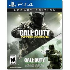 CALL OF DUTY Infinite Warfare (Legacy) Playstation 4 PS4 Pristine No Download