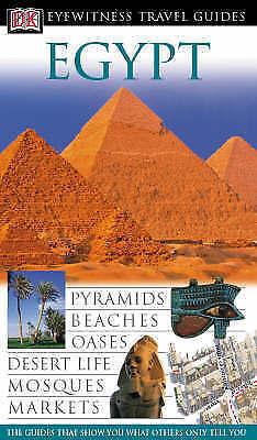 """AS NEW"" Jane Ewart, Egypt (DK Eyewitness Travel Guide), Hardcover Book"