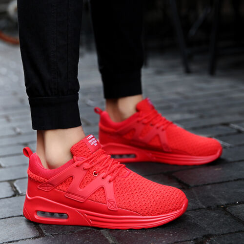 Men/'s Trainers Casual Running Mesh Breathable Air Cushion Shoes Sneakers New
