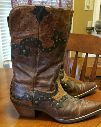 Ariat Rogue Western Leather Boots Size 9
