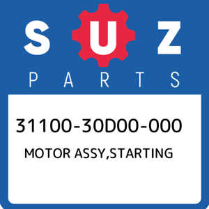 31100-30D00-000-Suzuki-Motor-assy-starting-3110030D00000-New-Genuine-OEM-Part