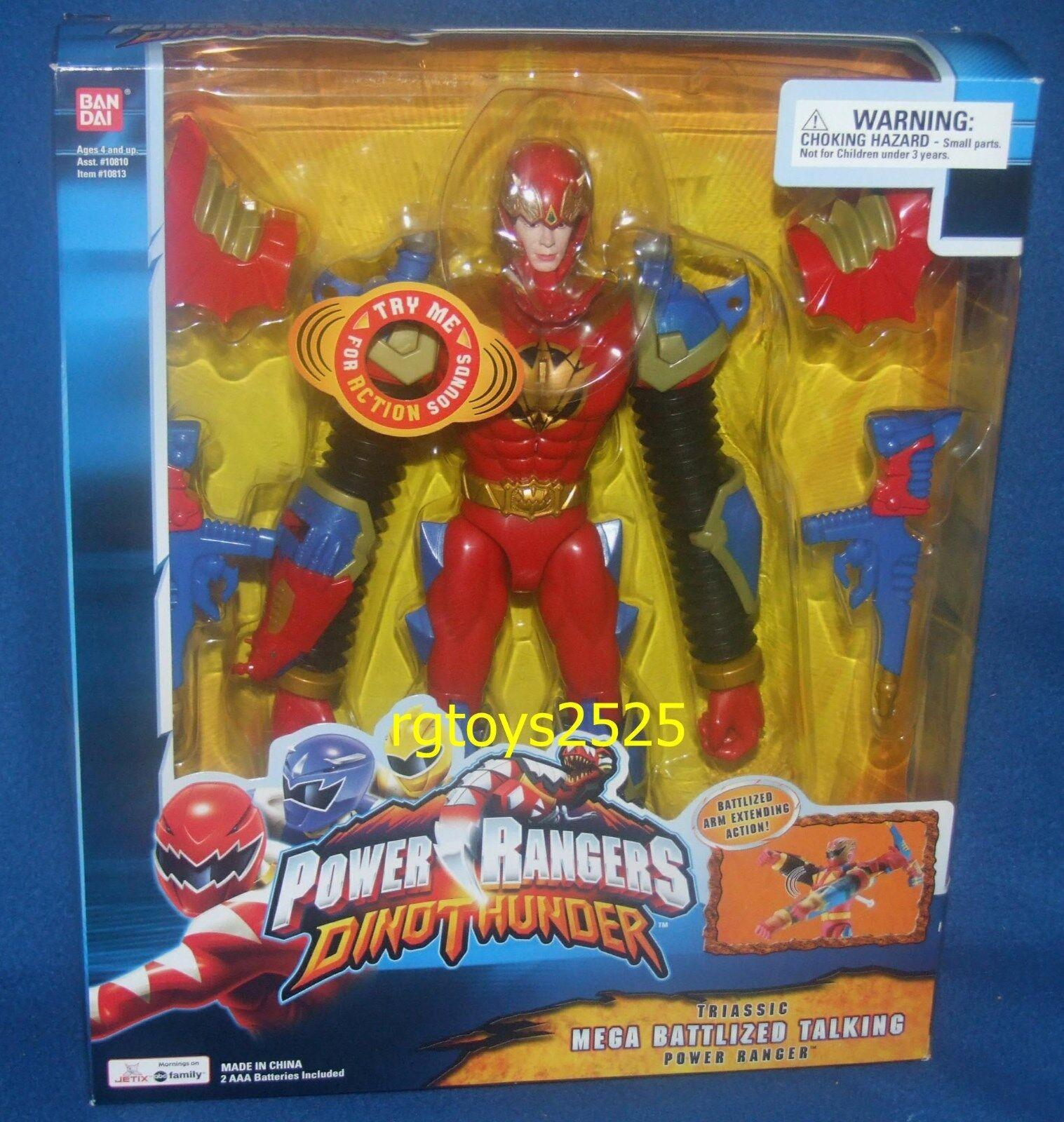 Power Rangers Dino Thunder TRIASSIC 12