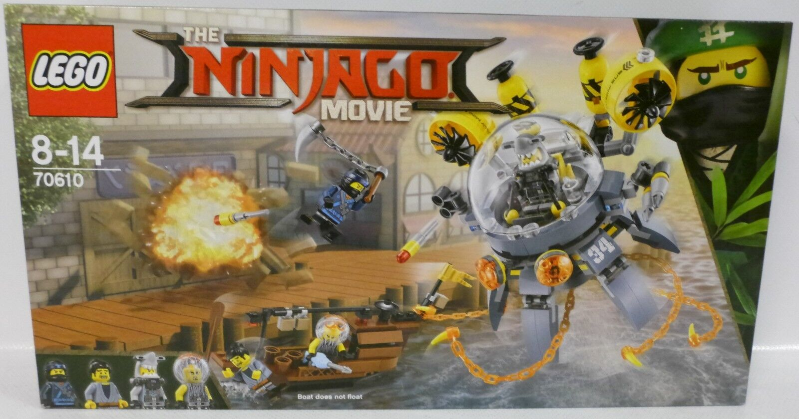 NEU LEGO® NINJAGO MOVIE 70610 Turbo Qualle  OVP