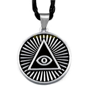 Image Is Loading The All Seeing Eye Pyramid Illuminati With Rope