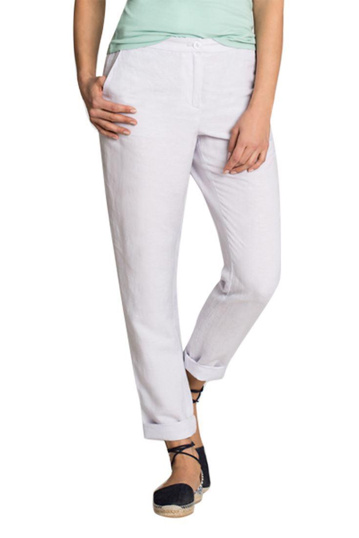 Nic + Zoe - Everyday Linen Pant - Smoke - 12