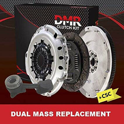 Ford Focus 1.8 TDCi DAW//DBW Dual Mass Replacement Solid Flywheel+Clutch Kit+CSC