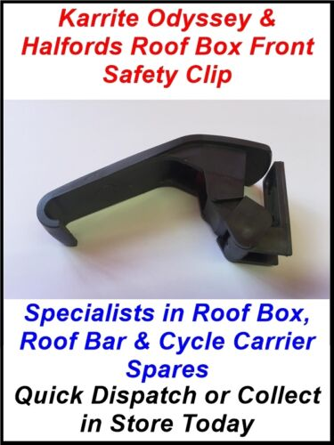 SINGLE SECURING CLIP LATCH FOR THULE KARRITE ODYSSEY /& SOME HALFORDS ROOF BOXES