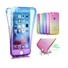 Shockproof  Silicone Protective Clear Soft Cover Case For iPhone 5 6 6S 7 7Plus