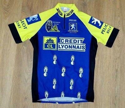 1990 France Team Z Credit Lyonnais cycling Short Sleeve Jersey Cycling Jersey