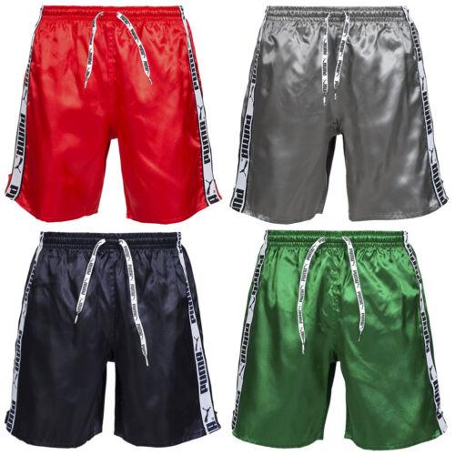 PUMA Stripe Short Glanz Shorts 805896 Glanzshort Retro Shiny S M L XL 2XL neu