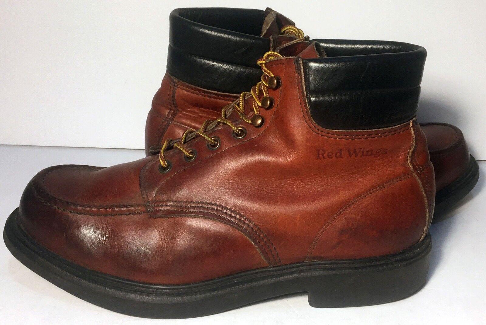 spedizione veloce e miglior servizio Red Wing Classic Moc Toe Marrone Marrone Marrone Leather Lace Up Military Work avvio Uomo Dimensione 10.5  godendo i tuoi acquisti