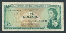 F.C. EAST CARIBBEAN STATES , 5 $ 1965 , B/C ( FINE ) , SUCIO , P.14a .