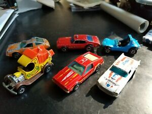 Hot-Wheels-REDLINES-and-Vintage-Lot-Of-6