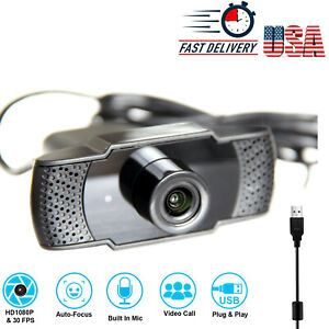 1080-P-Full-HD-USB-Webcam-for-PC-Desktop-amp-Laptop-Web-Camera-with-Microphone