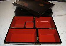 "New 12""LARGE BENTO BOX Dinner obento restaurant supply SHAKU Monjyu Big Boxes 12"