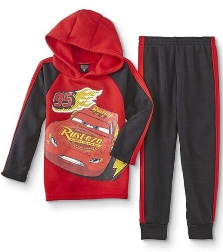 Disney CARS Hoodie Pants Set NeW Boys 5 Rusteze Pullover Hoodie Jacket Tracksuit