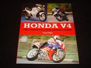HONDA-V4-COMPLETE-FOUR-STROKE-STORY-GREG-PULLEN-2014-1st-EDITION-H-B-BRAND-NEW