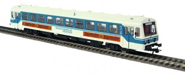 1/87 Brekina NE 81 Triebwagen Regentalbahn Jägermeister AC Wechselstrom 64331