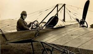 Early-Aviation-Mr-Norman-C-Spratt-In-The-Deperdussin-Monoplane-6x4-PHOTO