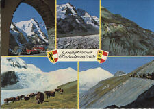 Alte Postkarte - Impressionen von der Großglockner Hochalpenstraße