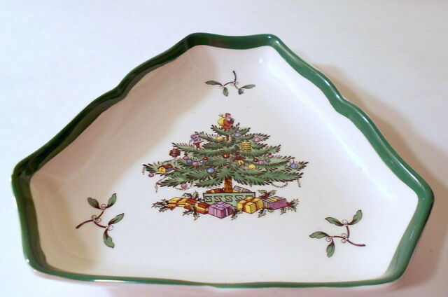 Spode England Christmas Tree S3324 Gravy Boat And