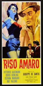 Plakat Reis Amaro Mangano Gassman Wallonische De Santis Neorealismus Poster N44