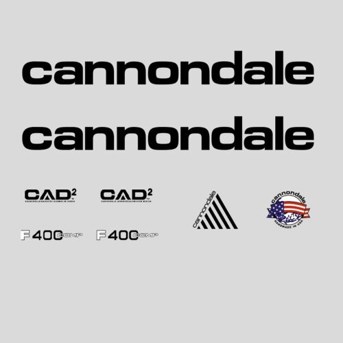 n.300 Stickers Cannondale F400 Comp CAAD2 Bicycle Decals Transfers
