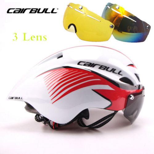 Triathlon MTB Road Bike Helmet Bicycle Sport Safe Cycling Helmet With Goggles