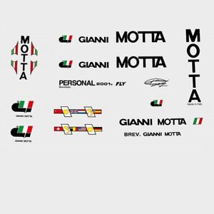 Yellow n.830 Stickers Gianni Motta Personal Decals