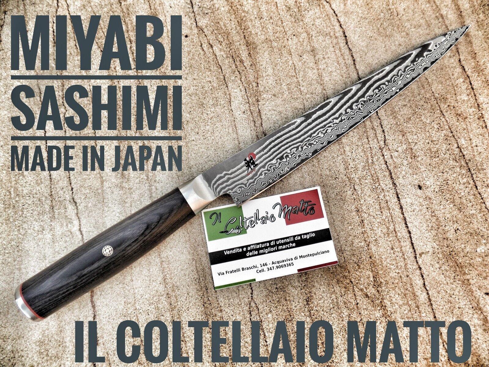 COLTELLO MIYABI ZWILLING - 5000FCD - DAMASCO - SASHIMI