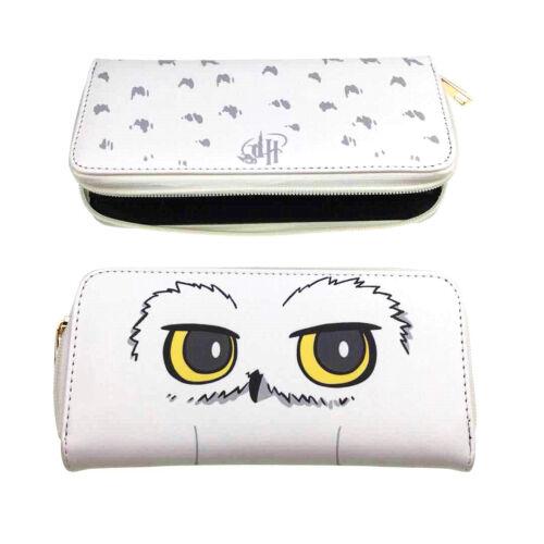 Harry Potter Hedwig Long Wallet PU Leather Student Coin Zipper Purse Handbag