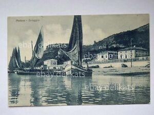 PEDASO-spiaggia-barca-vela-sailing-boat-Fermo-vecchia-cartolina