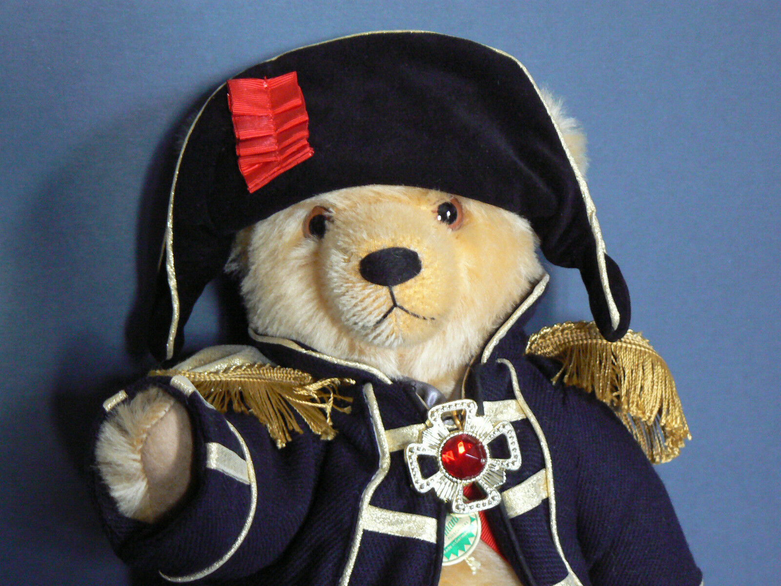 Heruomon Lord Nelson Teddy Teddy Teddy 37 cm stata limitata 107 500 pezzi c37162