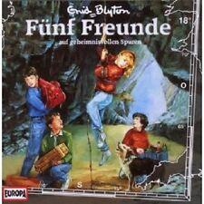 "FÜNF FREUNDE ""AUF GEHEIMNISVOLLEN SPUREN (FOLGE 18)"" CD HÖRBUCH NEUWARE"