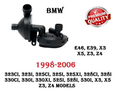 BMW E46 E39 E60 E83 X3 E53 X5 Crankecase Vent Breather Valve 11617501566
