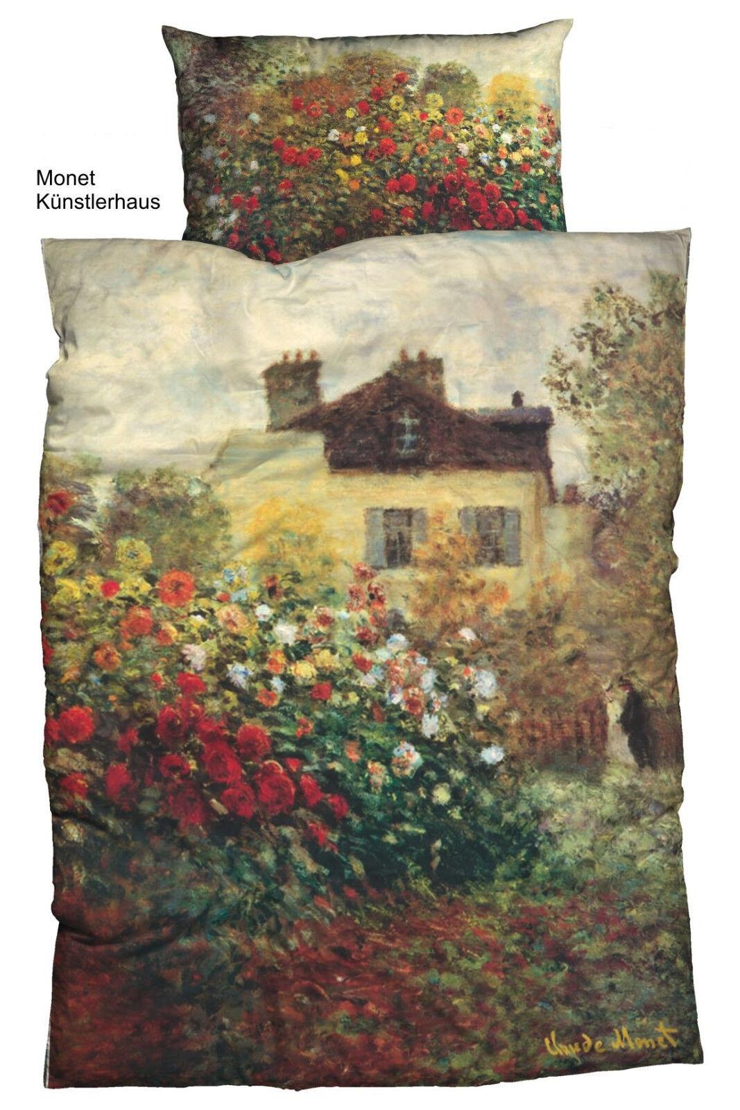 Biancheria da Letto Set La Casa degli artisti Claude Monet casatex 135x200 cm