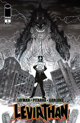 Comics Modern Age (1992-now) Lower Price with Leviathan #1 Cover D 1:25 Variant Harren B&w Layman Image Nm 2018 First Print In Many Styles