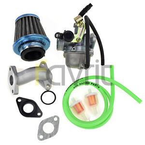 image is loading pz19-carburetor-air-fuel-filter-intake-110cc-peace-