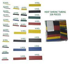 328 Pcs 21 Polyolefin Heat Shrink Tubing Tube Sleeve Wire Assortment 8 Size
