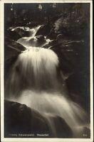 Triberg Schwarzwald 1931 datiert Waldpartie am Wasserfall Waterfall River Falls