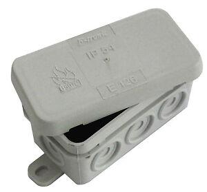 10 stk sd7 klein halb abzweigdose verteiler kabel sd 7 feuchtraum kabeldose grau ebay. Black Bedroom Furniture Sets. Home Design Ideas