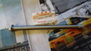 Honda-Front-Axle-for-CB125T-CM185T-CM200T-42301-304-972-New