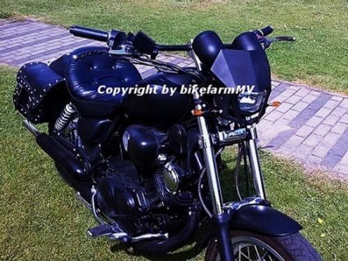 NEU 910 x 22 mm DRAG BAR Lenker schwarz TÜV Honda VT VF Shadow 125 250 Motorrad