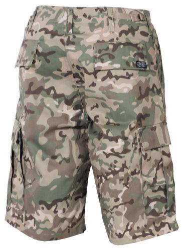 MFH US BDU Bermuda Shorts Pantaloni Cargo Uomo Pantaloni corti Capri Estate Pantaloni s-3xl