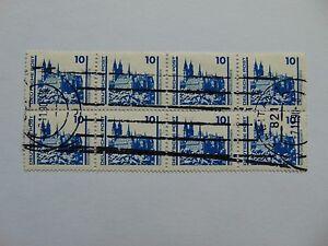 DDR 10 Pfennig(.) Achterbogen Freimarken 1990 mit Plattenfehler Mi 3344 I